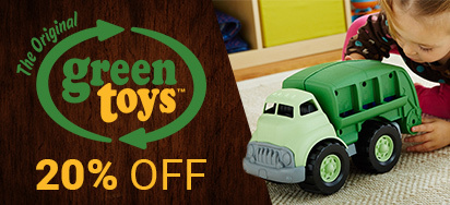 20% off Green Toys