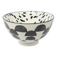 Etta Black and White Cresta Small Bowl (11cm)
