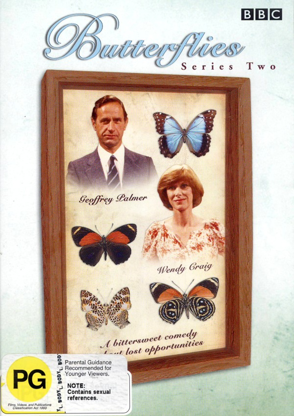 Butterflies - Series 2 (2 Disc) on DVD image