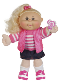 "Cabbage Patch Kids: 14"" Pink Adventure Girl Doll (Assorted Designs)"