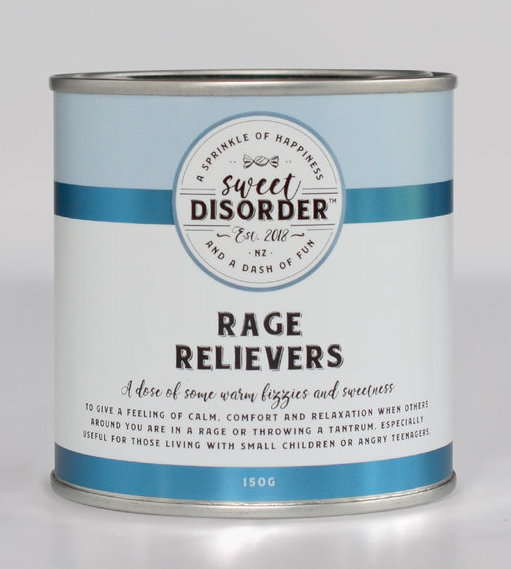Sweet Disorder: Rage Relievers (150g)