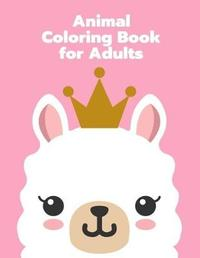 Animal Coloring Book for Adults by Harry Blackice