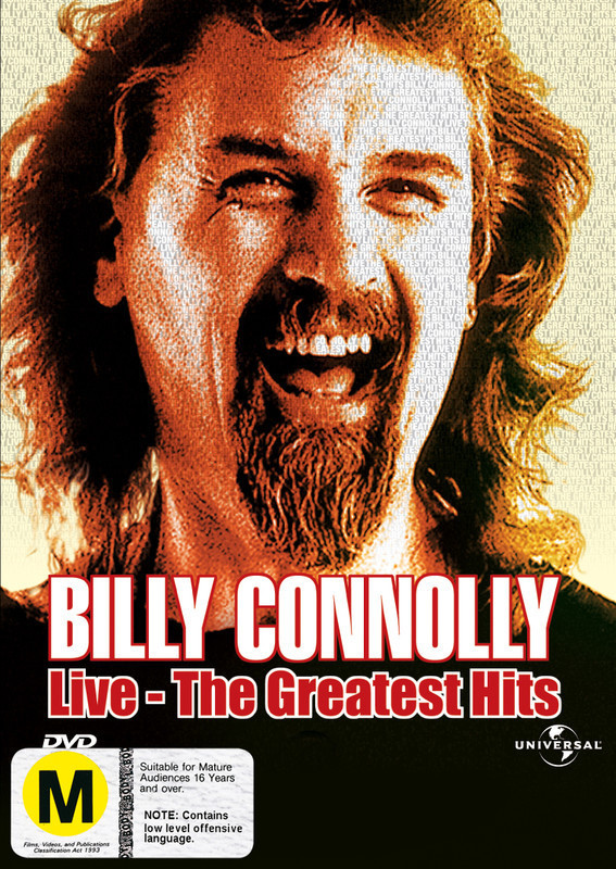 Billy Connolly: Live - The Greatest Hits on DVD
