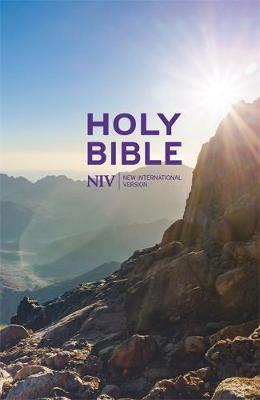 NIV Thinline Value Hardback Bible by New International Version image