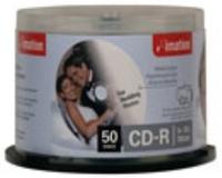 Imation Printable CD-R 52X 700MB 10 PK SLIM JEWEL CASE