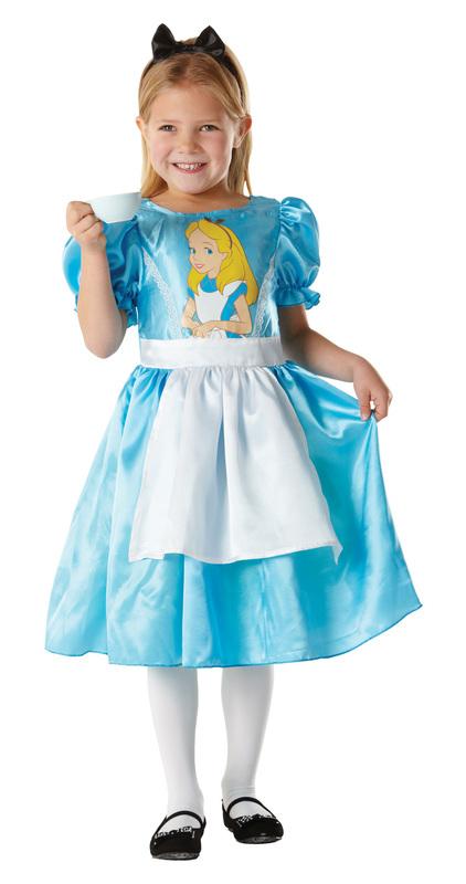 Rubie/'s Official Girl/'s Disney Alice in Wonderland Mad Hatter Children Costume