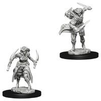 D&D Nolzur's Marvelous: Unpainted Miniatures - Tiefling Female Rogue