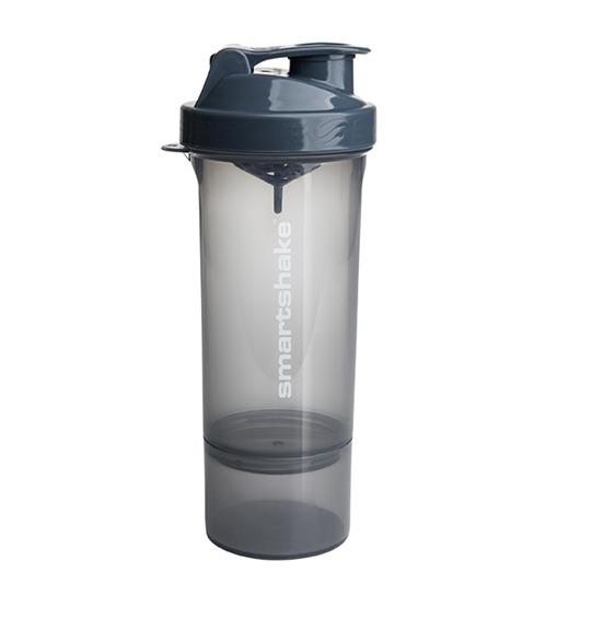 Smartshake Slim Protein Shaker - Stormy Grey (400ml)