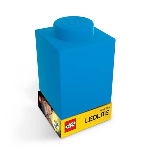 LEGO Silicone Night Light - Blue Brick