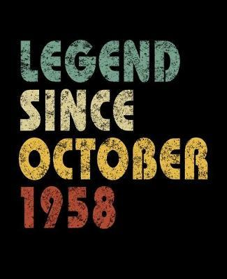 Legend Since October 1958 by Delsee Notebooks