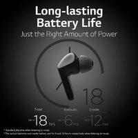 LG TONE True Wireless Bluetooth Earbuds with UV Sanitising Case - Black