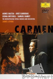 Baltsa/carreras/levine - Bizet: Carmen on DVD image
