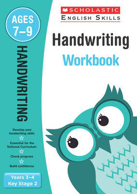Handwriting Years 3-4 Workbook by Christine Moorcroft image