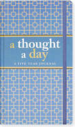 A Thought a Day: A Five Year Journal