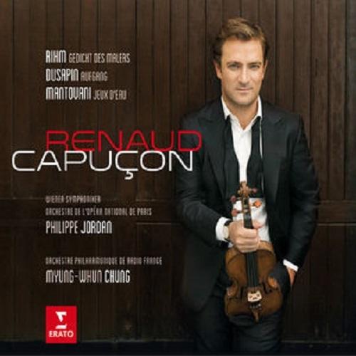 Rihm/Dusapin/Mantovani: Three Modern Concertos by Renaud Capucon image