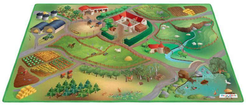 Farm Playmat with Animals image