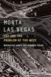 Morta Las Vegas by Nathaniel Lewis