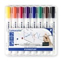 Staedtler Lumocolor: Whiteboard Markers - Bullet Tip (Wallet of 8)