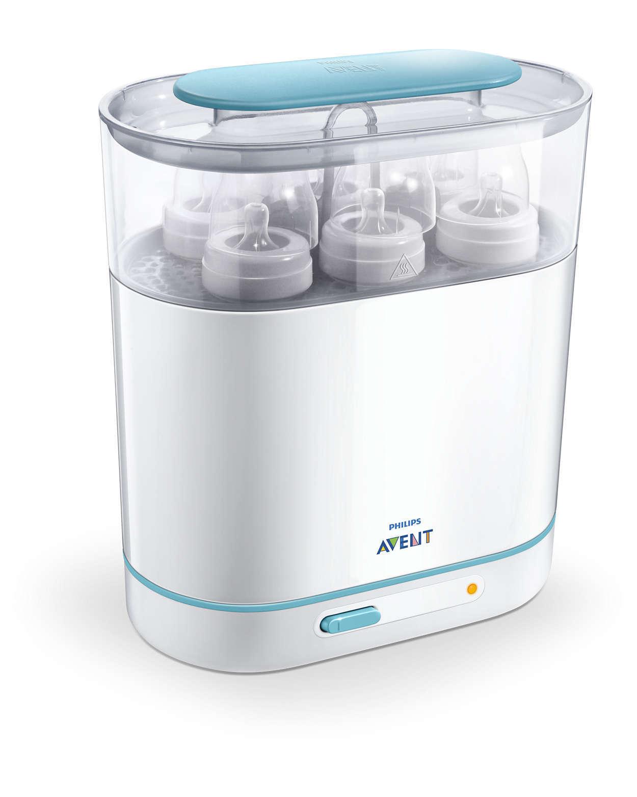 Philips Avent 3 in 1 Electric Steam Steriliser image
