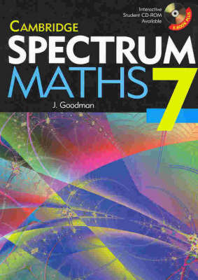 Cambridge Spectrum Mathematics Year 7 by Jenny Goodman image