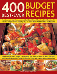400 Best Ever Budget Recipes by Lucy Doncaster image