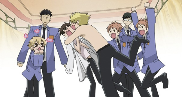 Ouran High School Host Club Series Collection (3 Disc Set) on Blu-ray image