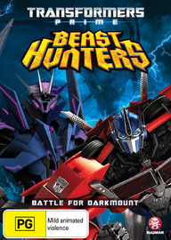 Transformers Prime: Battle for Darkmount on DVD