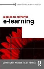 A Guide to Authentic e-Learning by Jan Herrington image