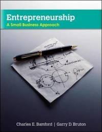 Entrepreneurship by Charles E Bamford image