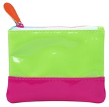 Pink Poppy: Colour My World Coin Purse - Green