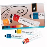 Chromacryl Students' Acrylic Paint 75ml Set (10pc)