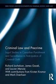 Criminal Law and Precrime by Richard Jochelson