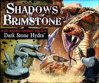 Shadows of Brimstone: Dark Stone Hydra - Deluxe Enemy Pack