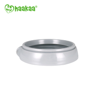 Haakaa: Generation 3 Silicone Bottle Nipple Ring - Gray