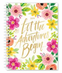 Bonnie Marcus 2019 Desk Planner Foil Week to View