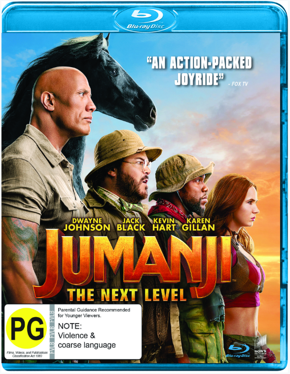 Jumanji: The Next Level on Blu-ray