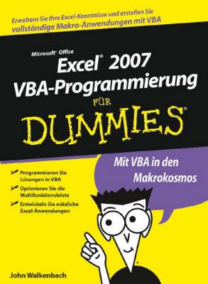 Excel 2007 VBA-Programmierung Fur Dummies by John Walkenbach image