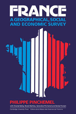 France: A Geographical, Social and Economic Survey by Philippe Pinchemel