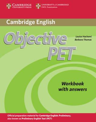 Objective PET Workbook with answers by Louise Hashemi
