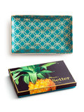 Jet Setter - Teal & Gold Tray