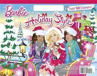 Barbie: Holiday Style Colouring Book (with Stickers) by Mary Man-Kong