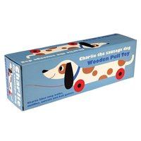 Wooden Pull Toy - Charlie the Sausage Dog
