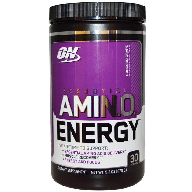 Optimum Nutrition Amino Energy Drink - Concord Grape (30 Serves)