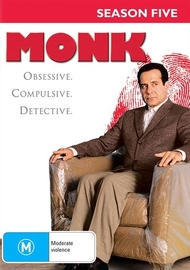 Monk - Season Five on DVD