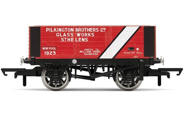 Hornby: 6 Plank Wagon, Pilkington Bros.