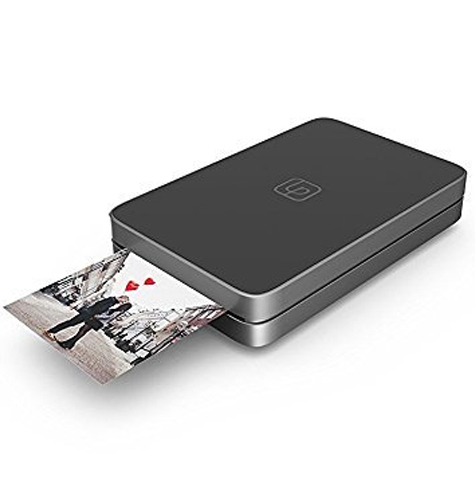Lifeprint: 2x3 Portable Photo AND Video Printer for iPhone and Android - Black