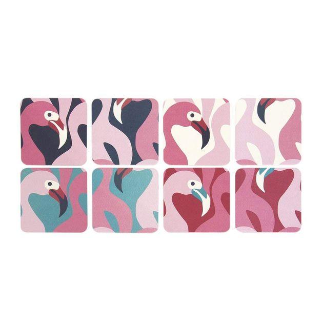 Flamingo Coasters (8pk)