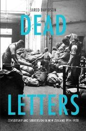 Dead Letters by Jared Davidson
