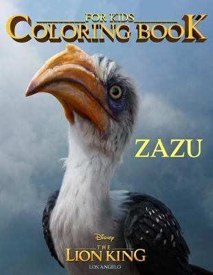 Lion King Coloring Book for Kids Zazu by Los Angelo