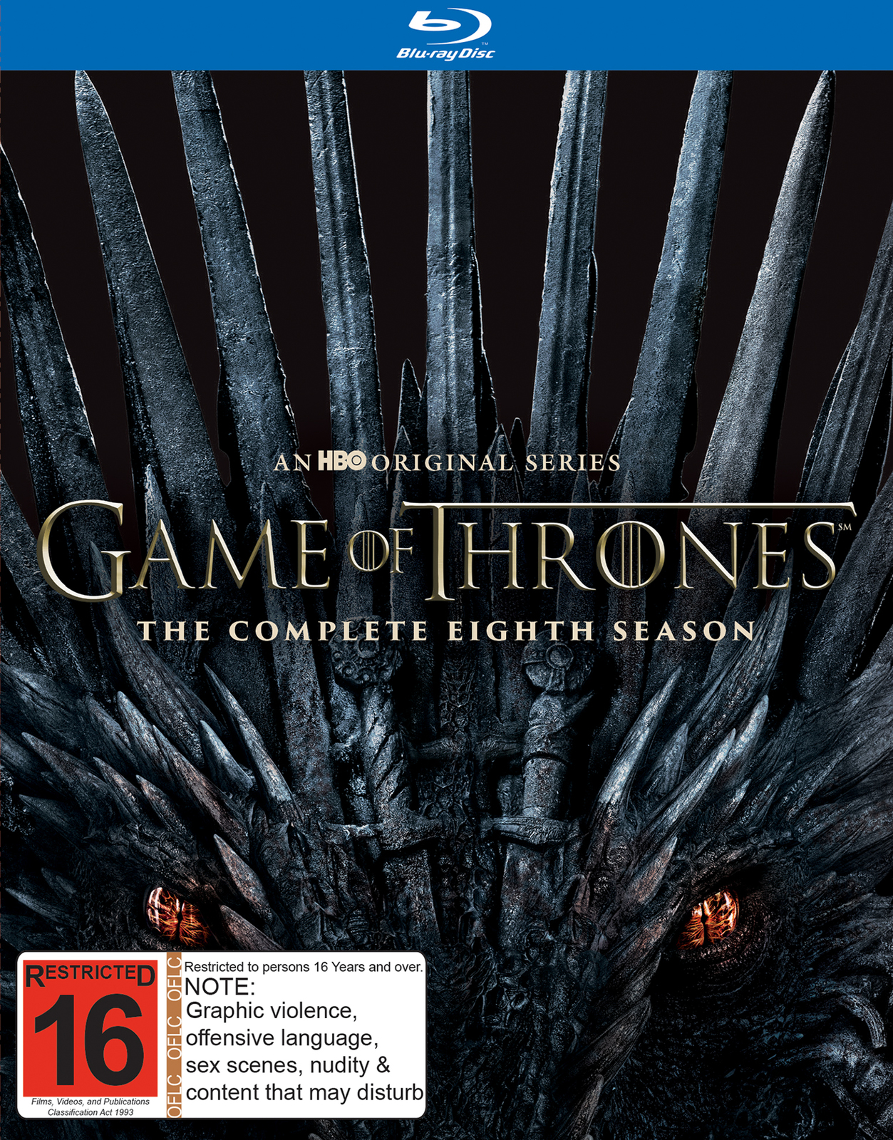Game of Thrones Season 8 on Blu-ray image